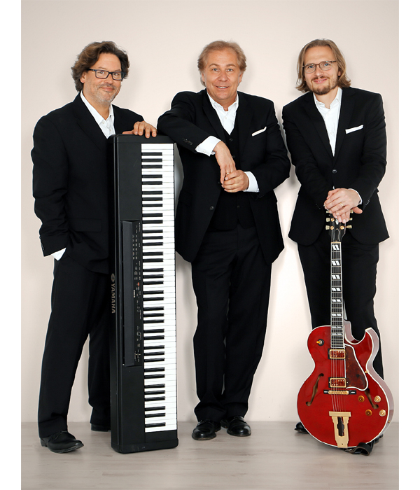 Peter Roland`s Swing-N-Jazz als Trio