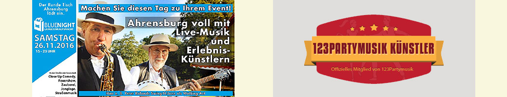 Ahrensburg Blue Night 123Partymusik Sampler 200 1040
