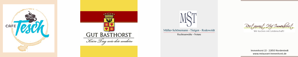 Cafe Tesch Gut Basthorst MST Rechtsanwälte Restaurant Immenhorst Sampler 1
