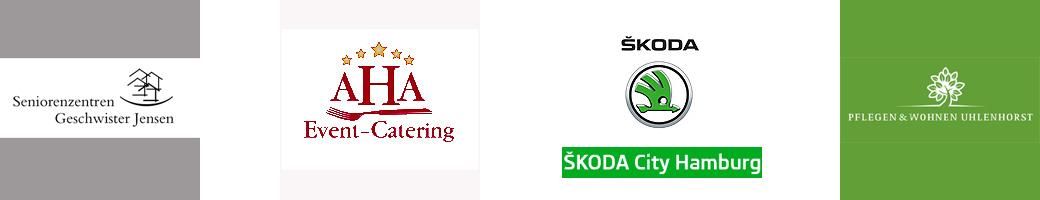 Geschwister Jensen AHA Event-Catering Skoda City Hamburg Pflegen und Wohnen Hamburg