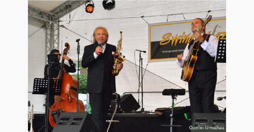 Trio Swing-N.Jazz Bühne