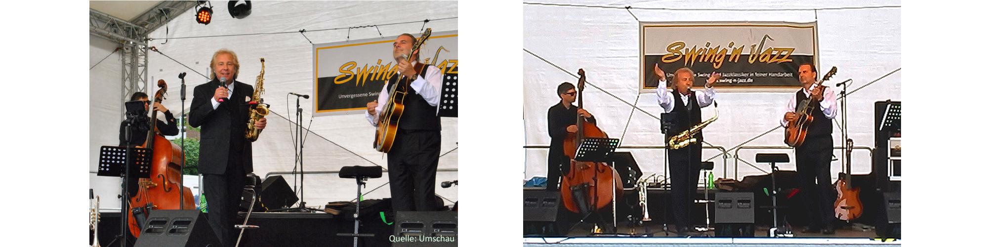 Peter Roland Swing-N-Jazz, Trio mit Gitarristund Bassist