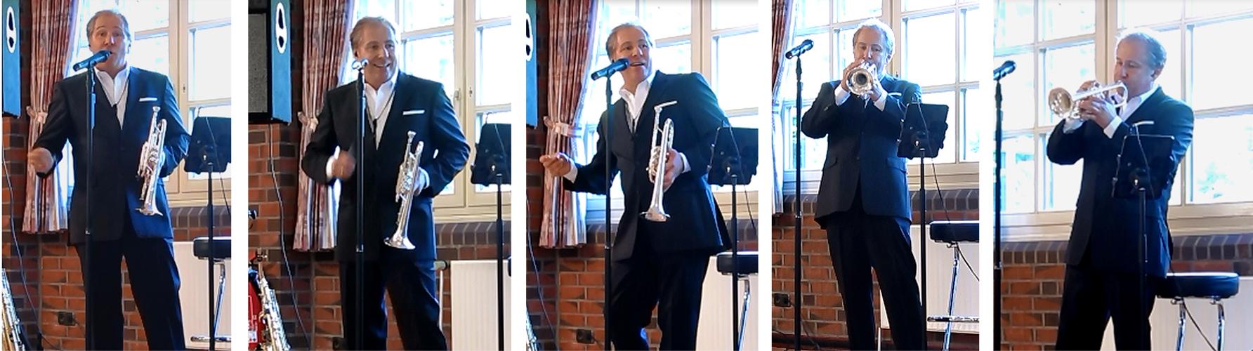 Sampler Trompete Anzug kurz
