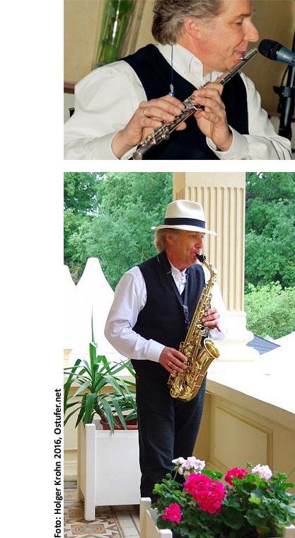 Peter Roland Querflöte Saxophon 60L