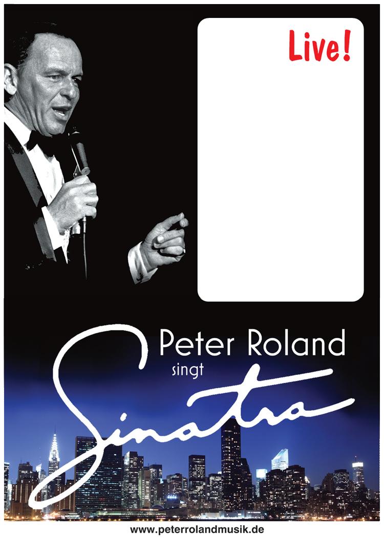 Plakat PR singt Sinatra 750